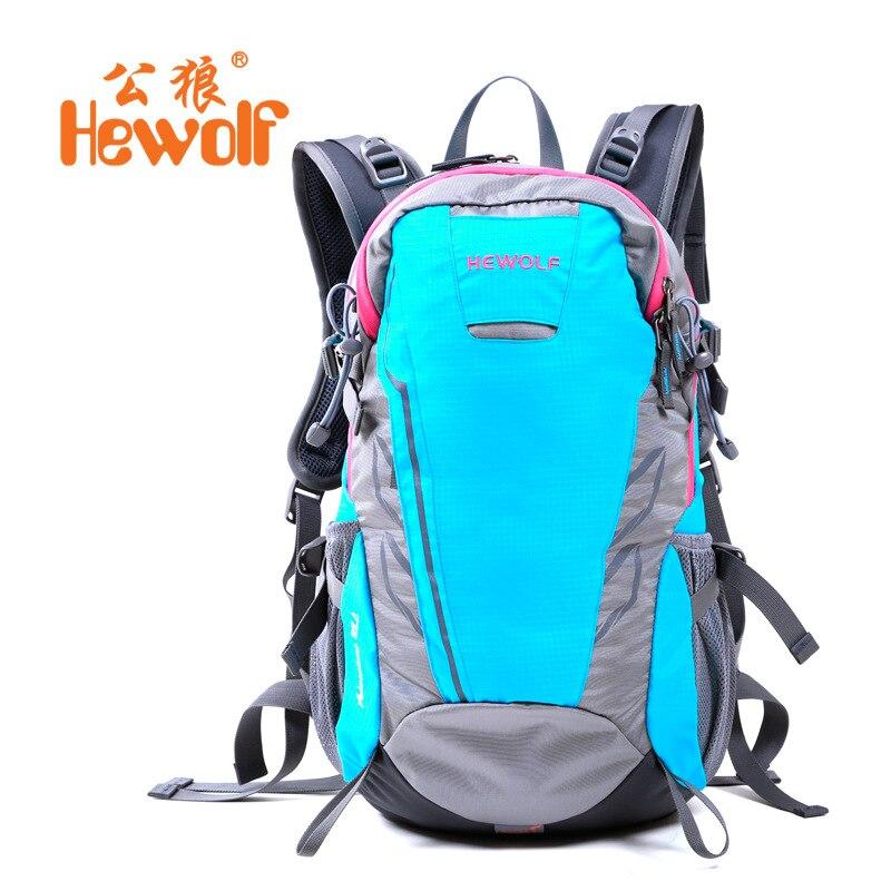 Hewolf sac extérieur 28L Camping étanche ultraléger sac d'alpinisme sac hommes sac de sport de plein air sac à dos professionnel