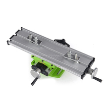 Miniature precision LY6300 multifunction Milling Machine Bench drill Vise Fixture worktable X Y-axis adjustment Coordinate table miniature precision mini multifunction table bench vise bench drill milling machine cross assisted positioning tool