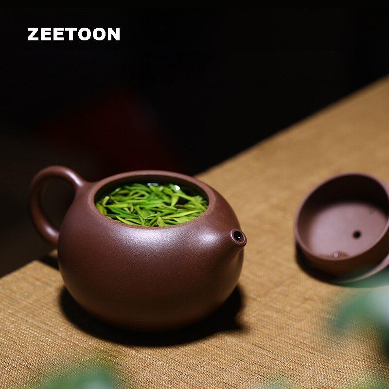 200cc čínské kreativní Kung Fu čajové sady keramiky fialové hlíny vše ručně vyráběné Yixing konvice fialové bahno xi shi hrnec domácí dekor Ornament