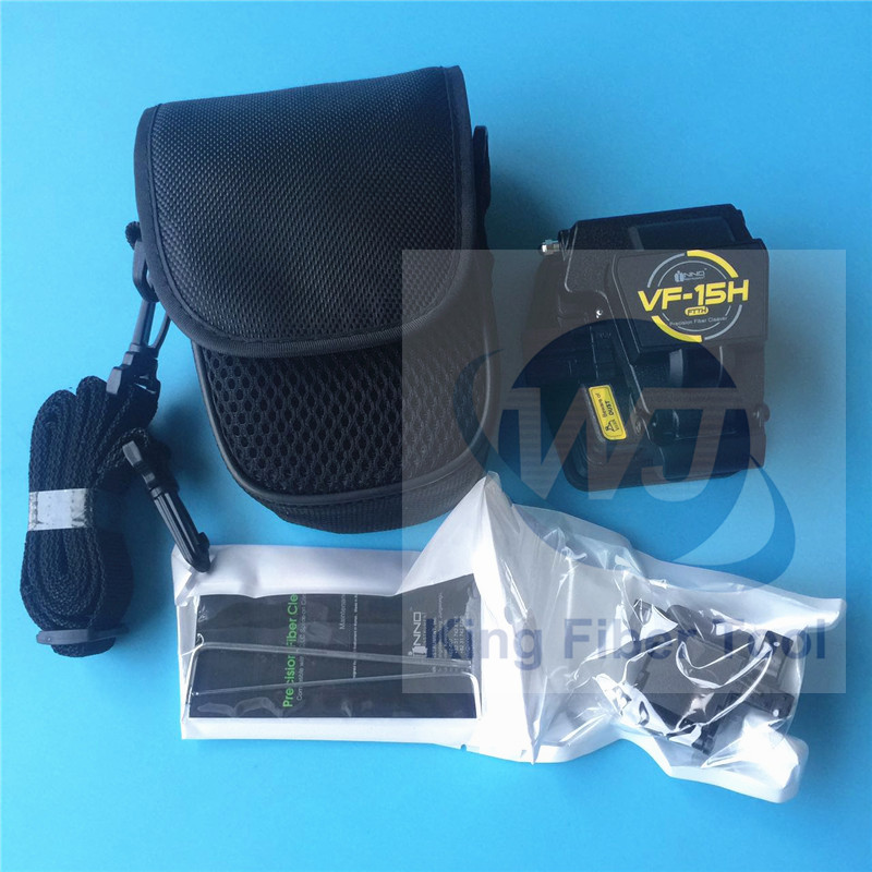 Original High precision INNO VF-15 Optical Fiber Cleaver INNO IFS-15 ARC Fusion Splicer with VF-15H fiber cleaver + Storage box
