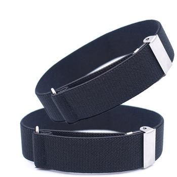 1 pair Gentleman Formal Shirt Bracelet Sleeve Garter Holder Business Party Cuff Father's day Gift Sleeve Garter 2.5 cm width 1