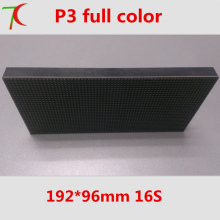 P3 indoor smd suitable for wall installation ,192*96mm,16scan,111111dots/sqm
