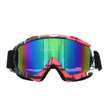 100% UV Protection Anti Fog Skiing Snow Snowboard Goggles Motocross Cycling Glasses Downhill Dustproof Racing Windproof Eyewear