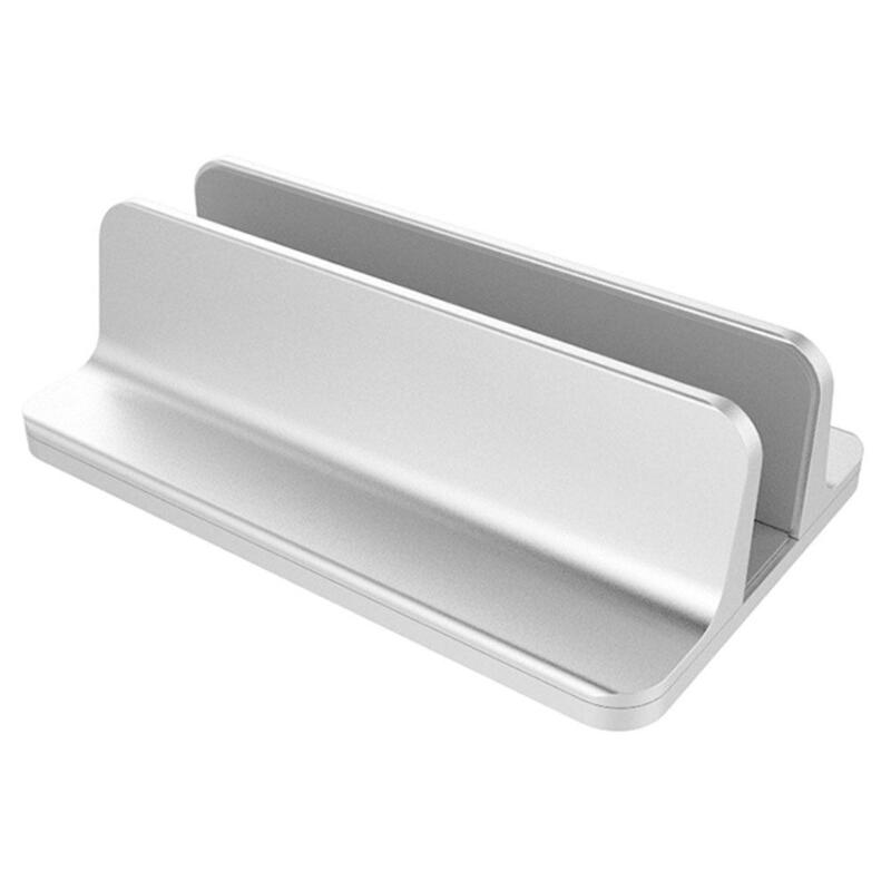 VODOOL Vertical Ajustável Laptop Stand Notebook Liga de Alumínio Base de Montagem Titular do Space-saving Erguido para MacBook Pro/Air PC
