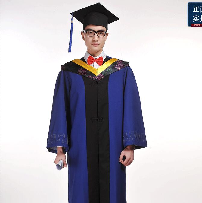 Graduation Clothing Cap Gown Graduation Graduate Uniform Academic Dress Masters Clothing