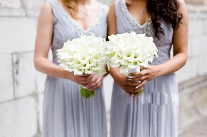 New arrival Romantic Wedding Bride \'s Bouquet Callas Bride Bouquet Bride Holding Flowers Wedding Bouquet (6)