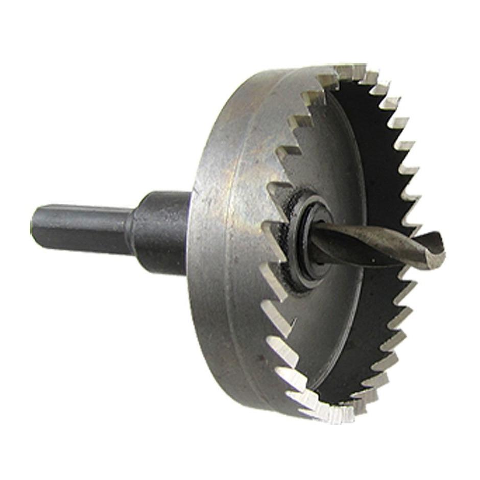 цена на LIXF Metal Plate Twist Drill Bit 50mm Cutting Dia Hole Saw Cutter