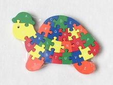 Новинка деревянные игрушки в виде животных улитки головоломка