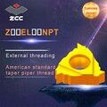 10 шт./лот Z16EL Z16EL8NPT-Z16EL27NPT YBG205 YBG203 оригинальный ZCC из карбида вставить токарные инструменты cnc Карбид резьбы вставки
