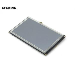"Image 3 - 7.0 ""Nextion Verbeterde Hmi Intelligente Smart Usart Uart Seriële Touch Tft Lcd Module Display Voor Raspberry Pi NX8048K070"