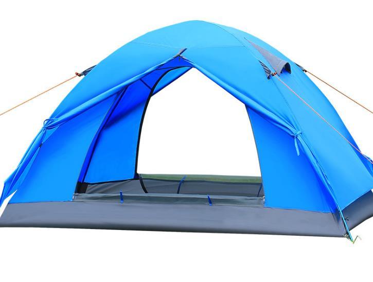 Qualité Imperméable À L'eau Double Couche 2 personne Camping En Plein Air Tente Randonnée Tente De Plage Touristique chambre voyage 2017 chine barraca tenda
