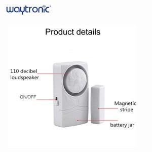 Image 2 - Magnetico senza fili del Portello del Sensore di Allarme Porta e la Finestra Aperta Vicino Promemoria di Allarme Kit per il Supermercato Negozio Frigorifero