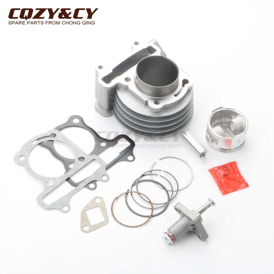 50 Mm Big Bore Silinder Kit & Piston Kit China GY6 50cc Upgrade Ke 100cc 139QMB 139QMA ATV Skuter 4 Stroke