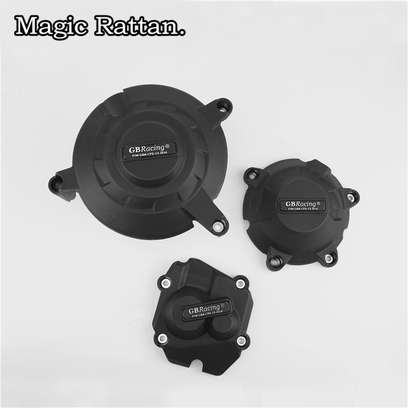 Motorcycle Engine Case Cover Set Engine Cover Kit Protection Fit ZX-10R 2011-2017 motorcycle engine case cover set engine cover kit protection fit cbr1000 2008 2015