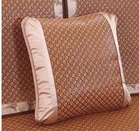 Summer cool Rattan cushion cover sofa pillowcase bamboo rattan waist pillow cover square shaped home decor