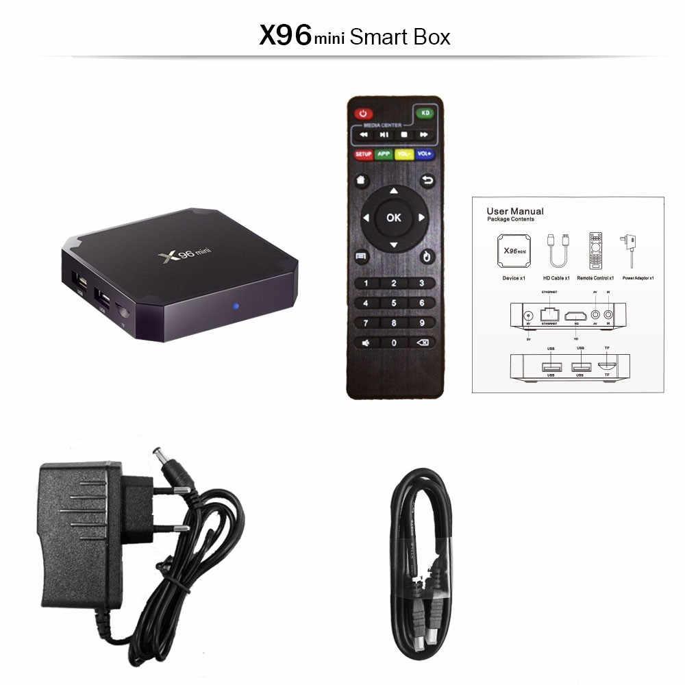 最高のフレンチ iptv ボックス X96 ミニアンドロイド 9.0 tv ボックスと 1 年ヨーロッパフランスアラビア語アフリカモロッコサッカースマート ip テレビボックス