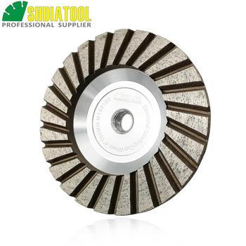 цена на SHDIATOOL Dia 100mm/4 M14 Diamond Cup Grinding Wheel #100 Aluminum Based Diamond Grinding Disc Granite Concrete Diamond Wheel
