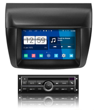 S160 Quad Core Android 4 4 4 font b car b font audio FOR MITSUBISHI L200