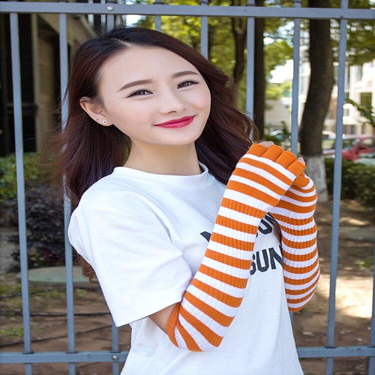 Winter Stil Paar Halten Warm Arm Hülse Süße Vogue Modellierung Fingerlose Handschuhe/handgelenk/arm/paket Freies Verschiffen Armstulpen
