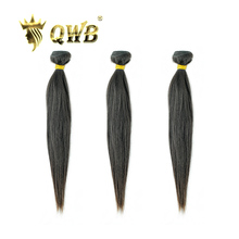 QWB משלוח חינם ישר 3 צרור/הרבה 10 ~ 28 מקצועי יחס שיער ברזילאי לא מעובד טבע צבע 100% שיער טבעי הארכת