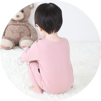 0-24 Months High Quality New Born Baby Girls Boy Romper Clothes Cute Heart Cotton Girls Long Sleeve Jumpsuit Pink Blue 4