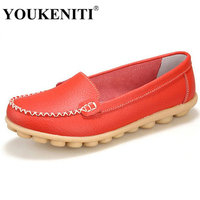 Shoes Woman 2016 Genuine Leather Women Shoes Flats 8 Colors Loafers Slip On Women S Flat
