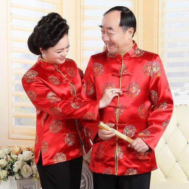 Tang Anzug Traditionelle Chinesische Kleidung für Männer Frauen ...