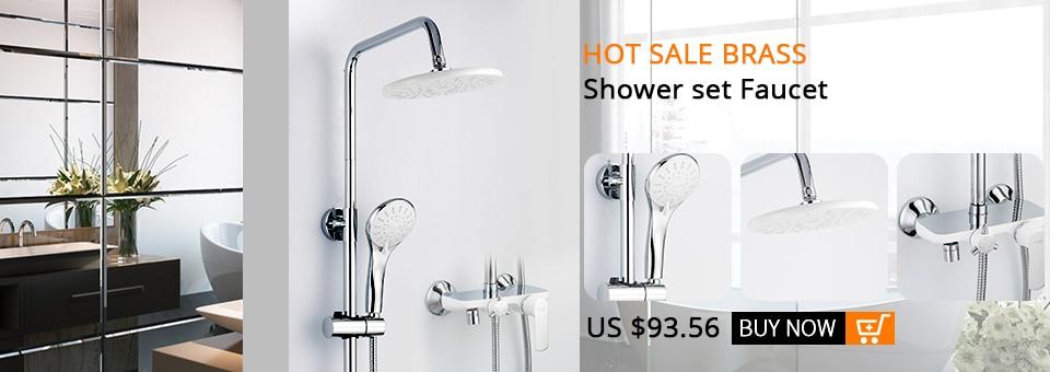 Frap 1 Set Bathroom Rainfall Shower Faucet Set Mixer Tap With Hand Sprayer Wall Mounted Bath Shower Sets Single Handle F2418 Repair Tool 060