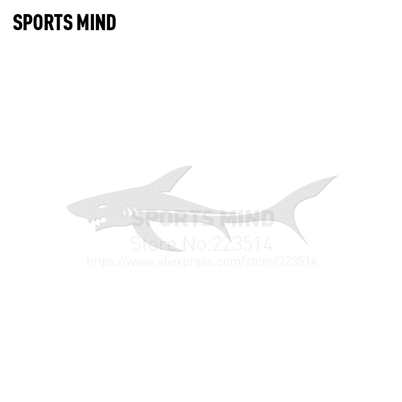 3 Pieces SPORTS MIND SHARK Automobiles Waterproof Car-Styling Reflective vinyl Car Body Sticker Decal For All Car accessories