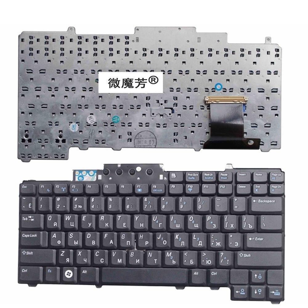 RU Nero Nuovo Per DELL D620 D630 D631 D820 D830 M65 PP18L Senza ricordare Tastiera Del Computer Portatile Russo