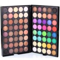 Pro Matte ánh sáng lung linh Trái Đất Eye Shadows Trang Điểm mini 80 Màu Mắt Trang Điểm Makes Up Kit Palette Set Mỹ Phẩm # EP80