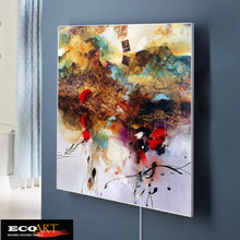 цены 360W Customized Design Painting Infrared Heater Panel Home Office Salon Heating Solution 500*600mm