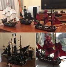 pirates of the caribbean 16006 16009 16002 Black Pearl ship 16016 22001 06057 4195 70618 model building kits blocks цена
