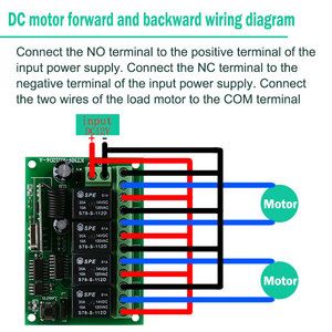 Image 3 - DC 12V 4 Gangs Relay Module 433MHz Receiver Wireless Remote Control Switch Motor Controller for Anti theft alarm with Jump Cap