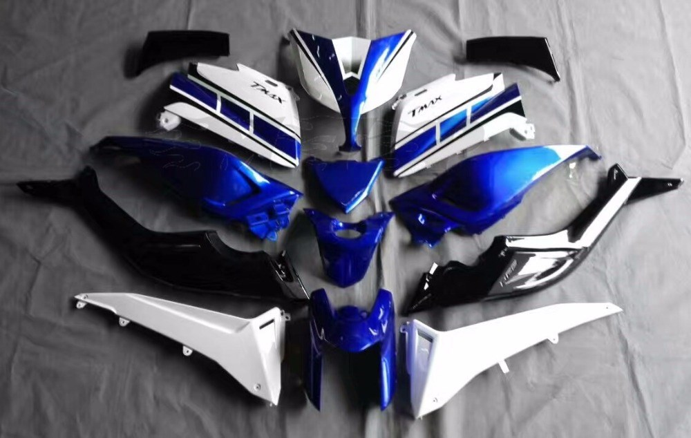 Motorcycle Injection Fairing Kit For Yamaha TMAX530 T-MAX 530 2012 2013 2014 TMAX 530 12 -14 13 Bodywork Fairings UV Painted hot sales for yamaha tmax530 parts 2012 2014 tmax 530 12 14 tmax 530 motorcycle body aftermarket kit fairing injection molding
