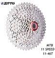 ZTTO MTB горный велосипед части 11 скоростной широкий коэффициент кассета Freewheel 11-46T для K7 частей M8000 M9000 XT SLX