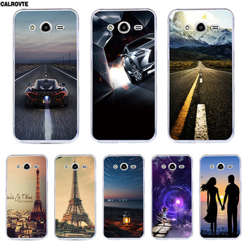 Colorful Cover for Samsung Galaxy Star Advance/Star 2 G350E SM-G350E Silicone Soft TPU Case Printed Animal Back Covers image
