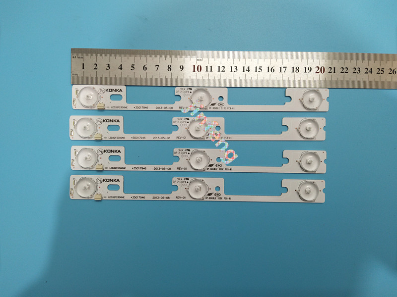 Enthusiastic Lot New And Original For Konka Led32f2300ne Light Bar,35017947 Backlight Lamp Led Strip 6v Moderate Cost Computer & Office