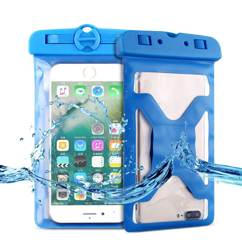 Universal Waterproof Bag IPX8 Underwater Swimming Waterproof Storage Bag Phone Case For Samsung S8 S9 For IPhone(China)