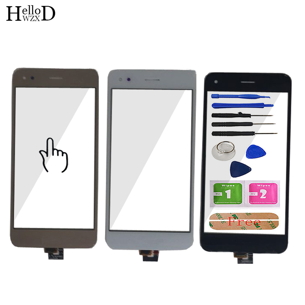 5.0'' Mobile Touch Screen Glass For Huawei Y6 Pro 2017 Touch Screen Glass Digitizer Panel TouchScreen Lens Sensor Tools Adhesive