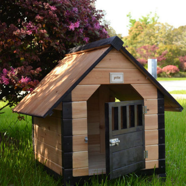 solid wooden cages dog kennel cat litter luxury dog house pet house in houses kennels pens. Black Bedroom Furniture Sets. Home Design Ideas
