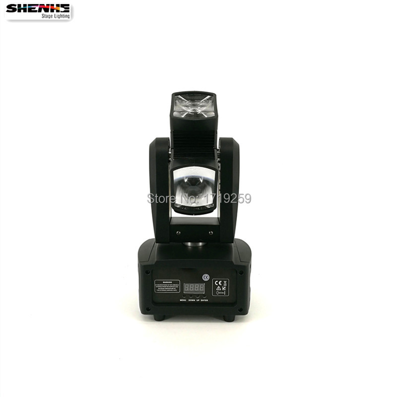 Hot Wheel LED Moving Head Light 4x10w RGBW 4in1 Rotating LED Beam Stage Lighting Perfect effect for DJ Disco Wedding Party