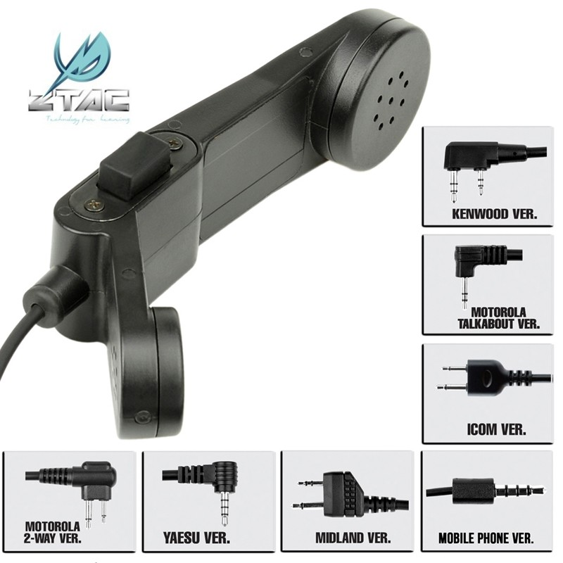 Z-Tactical H-250 Military Phone Tactical Headset Accessory Airsoft Paintball Hunting Communication Gear Z117