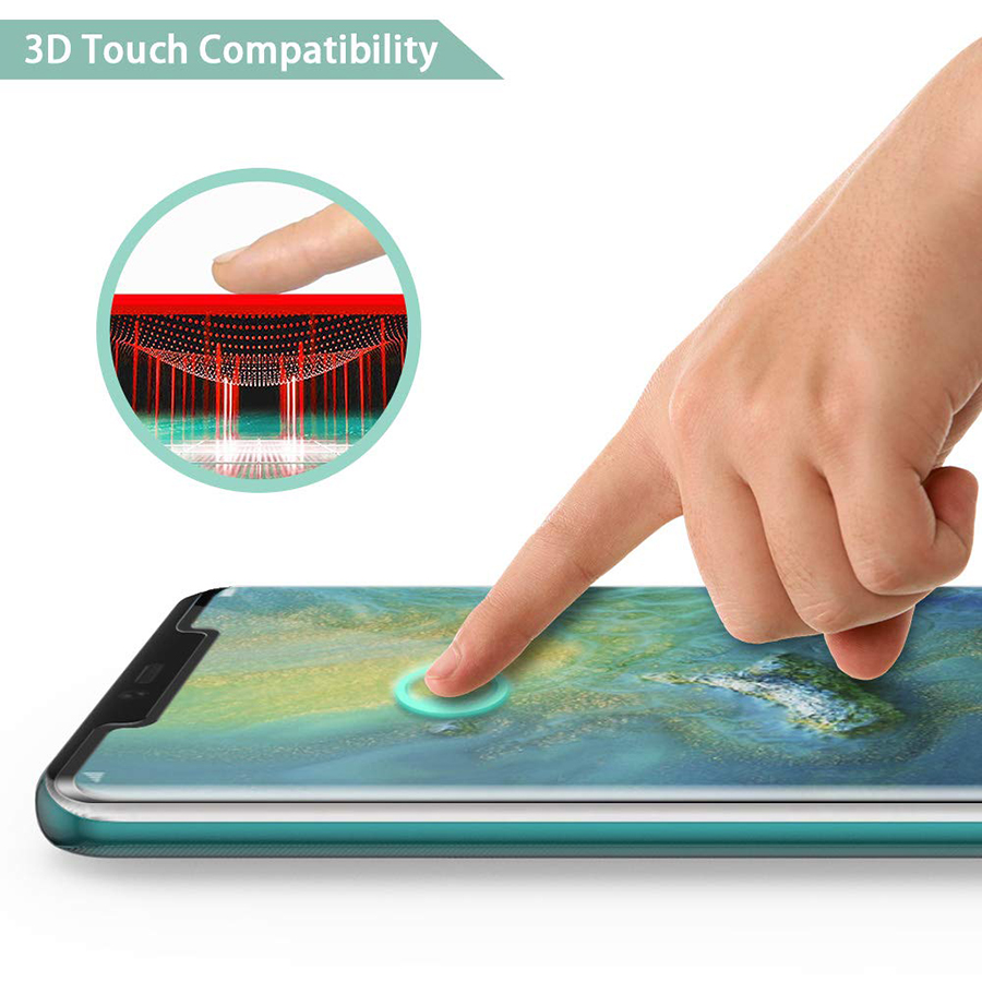 WuKong 3D Curved Full Glue Glass for Huawei Mate 20 Pro Full Cover Screen Tempered Glass Protector Film for Huawei Mate 20 Pro in Phone Screen Protectors from Cellphones Telecommunications