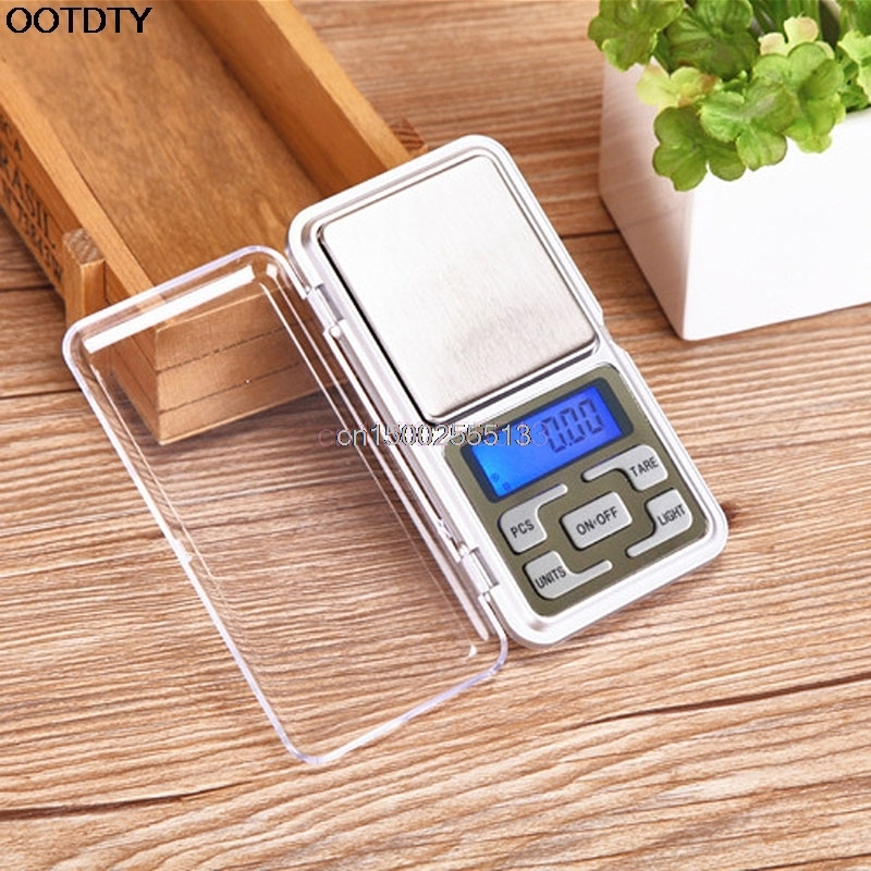 Pocket Digital Jewelry Scale 200g/0.01g Gram Balance Weight Electronic