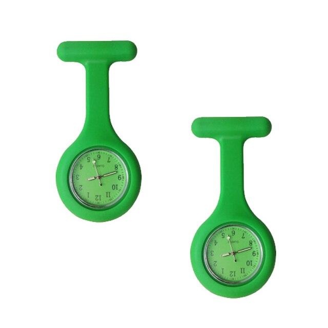 En gros haute qualité nouvelle infirmière montres Silicone poche Fob broche infirmières montre tunique Batteries médical Quartz montre