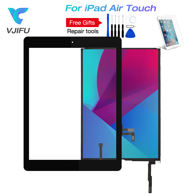 For iPad 5 LCD For iPad Air  A1474 A1475 A1476 LCD Display Assembly Touch Screen Digitizer Panel Replacement Free ToolsFor iPad 5 LCD For iPad Air  A1474 A1475 A1476 LCD Display Assembly Touch Screen Digitizer Panel Replacement Free Tools