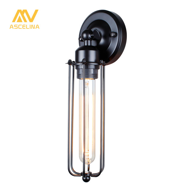 vintage style loft industrial edison hotel cafe bar restaurant wall lamp home decoration lighting iron small