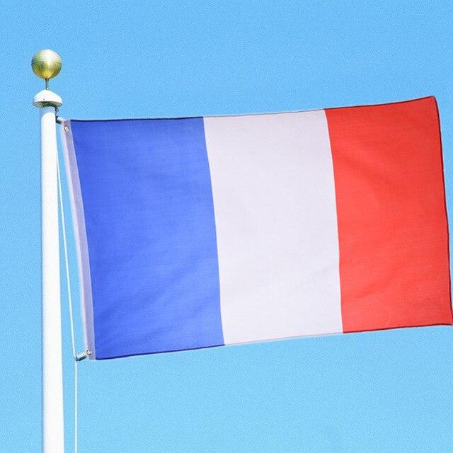 1 pcs França Bandeira 90 150 cm FT 3 5 Grande Pendurado Francês País ... 9e36a5622c42f