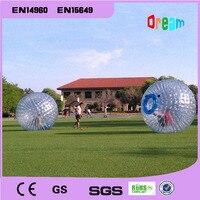 Бесплатная доставка 0.8 мм ПВХ Материал цена оптовой продажи 2.5 м Dia zorb Аренда Юта Футбол мяч игр на открытом воздухе